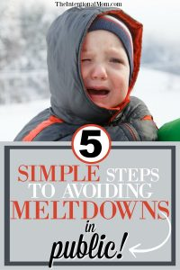 5 Simple Steps to Avoid Meltdowns In Public