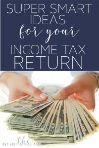 income tax refund ideas