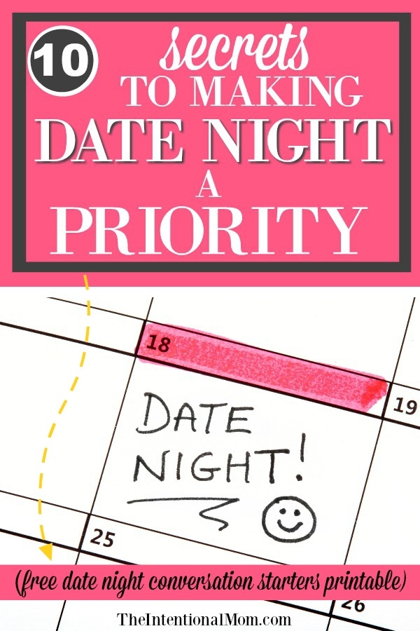 free date night ideas free printable