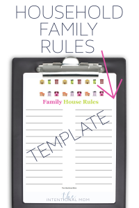 household family rules