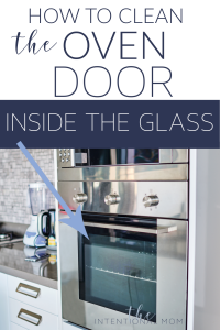 clean over door glass
