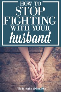 stop fighting husband
