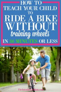 teach kid ride bike without training wheels