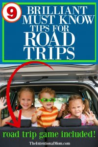 road trip kids ideas