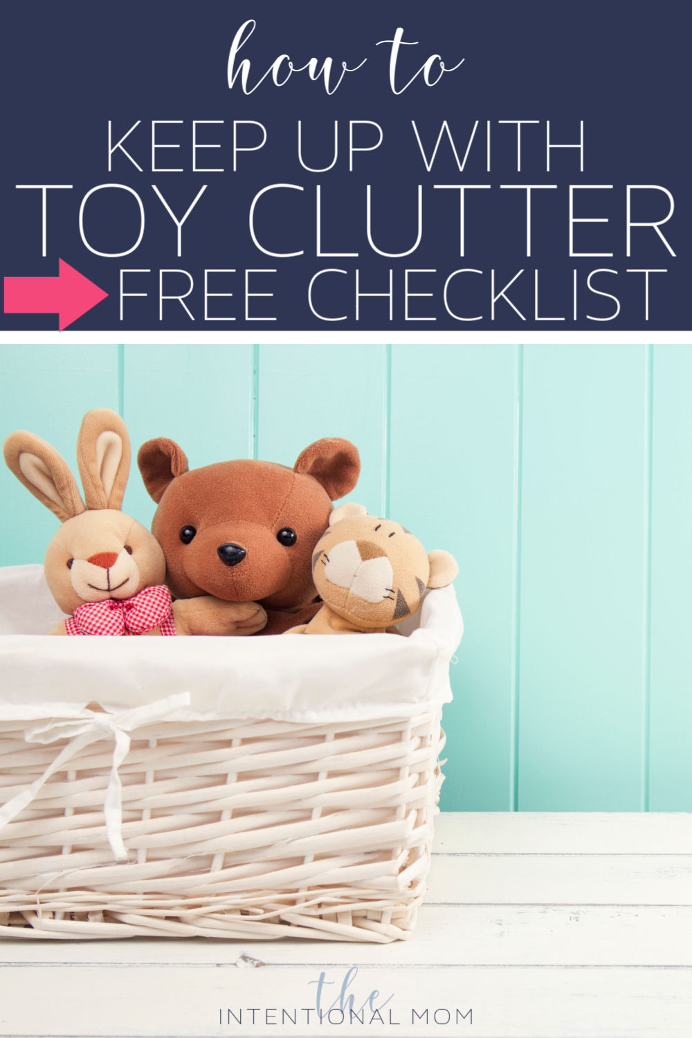 how to keep up with toy clutter