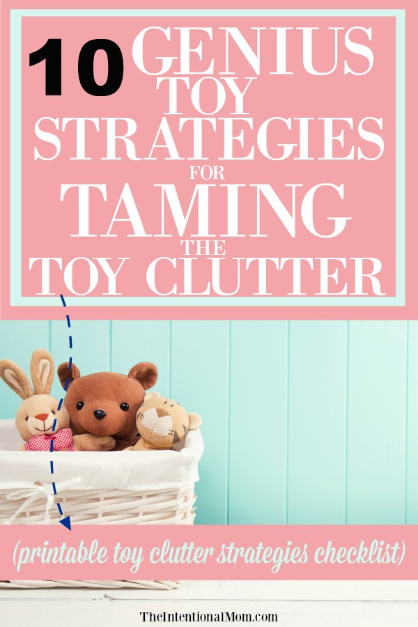 10 Genius Toy Storage Strategies For Taming the Toy Clutter
