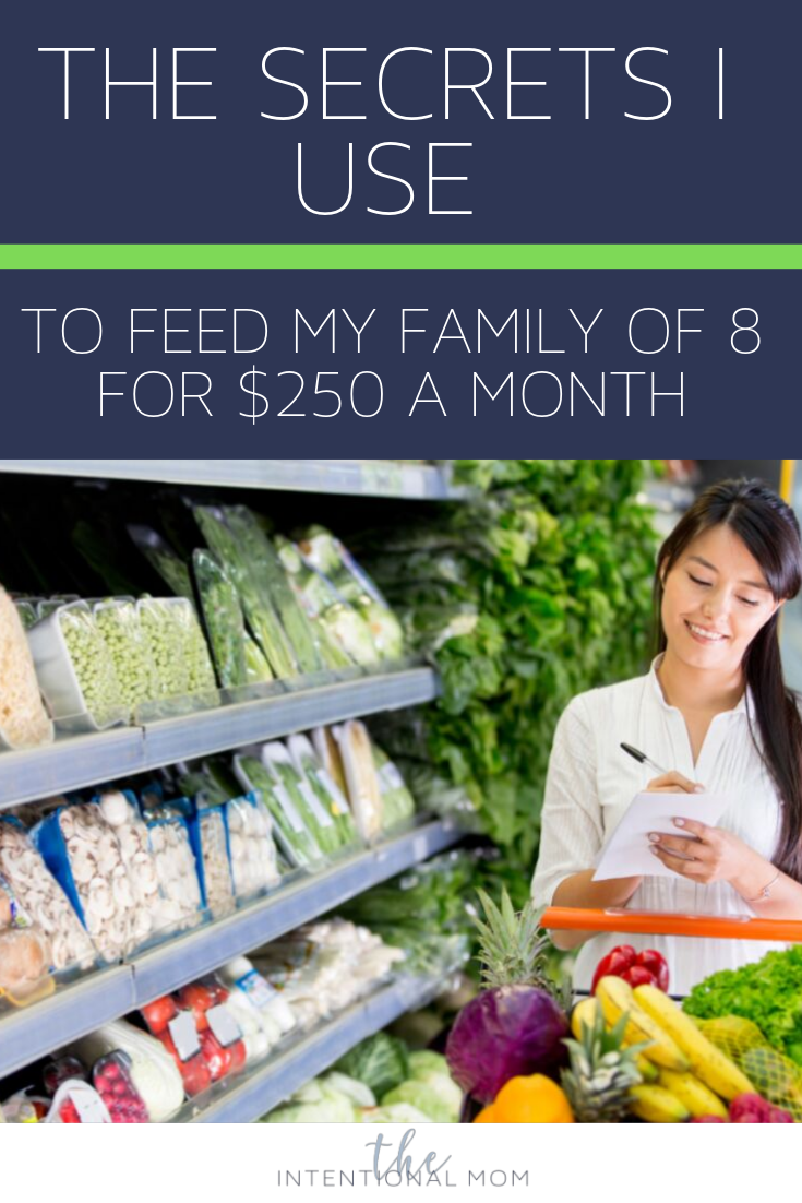 15 Grocery Tips That Feed My Family Of 8 On 250 Month