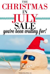 christmas july sale