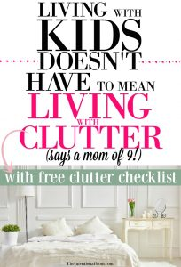 Living With Kids Doesn't Have to Mean Living With Clutter!