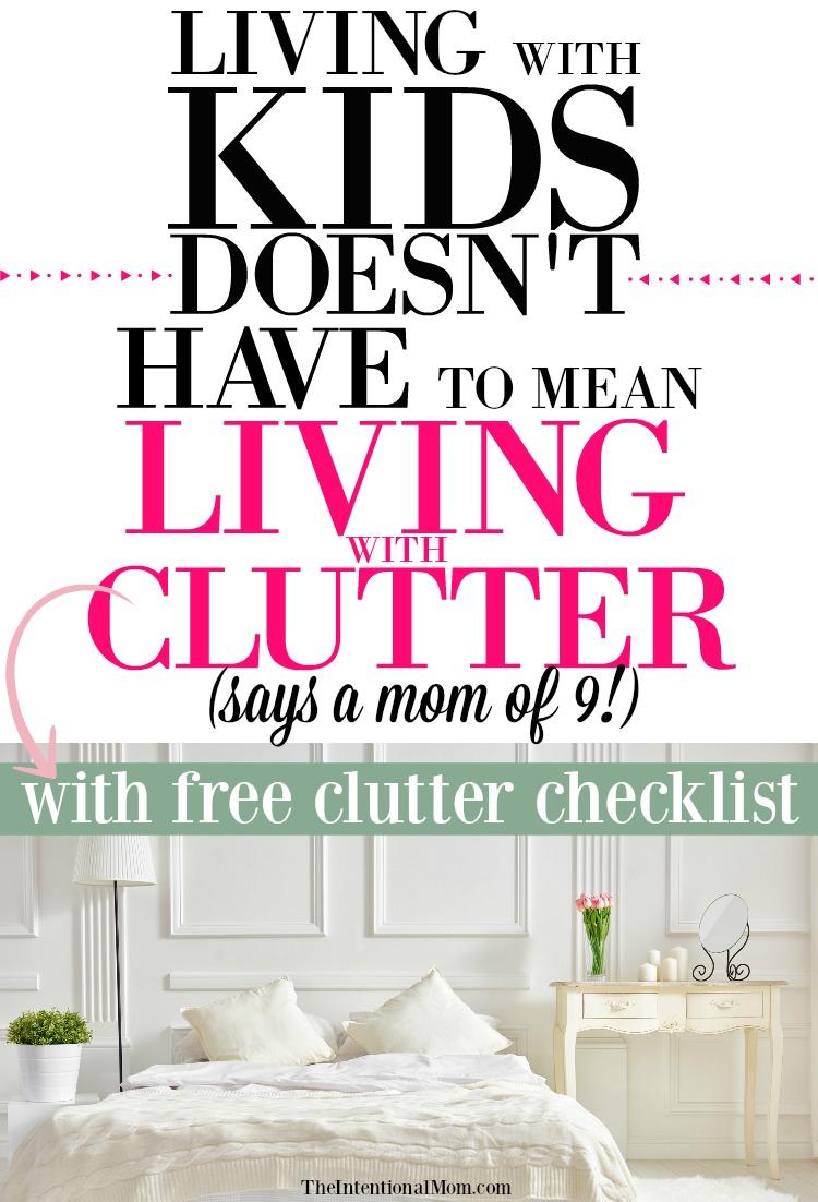 clutter organization tips