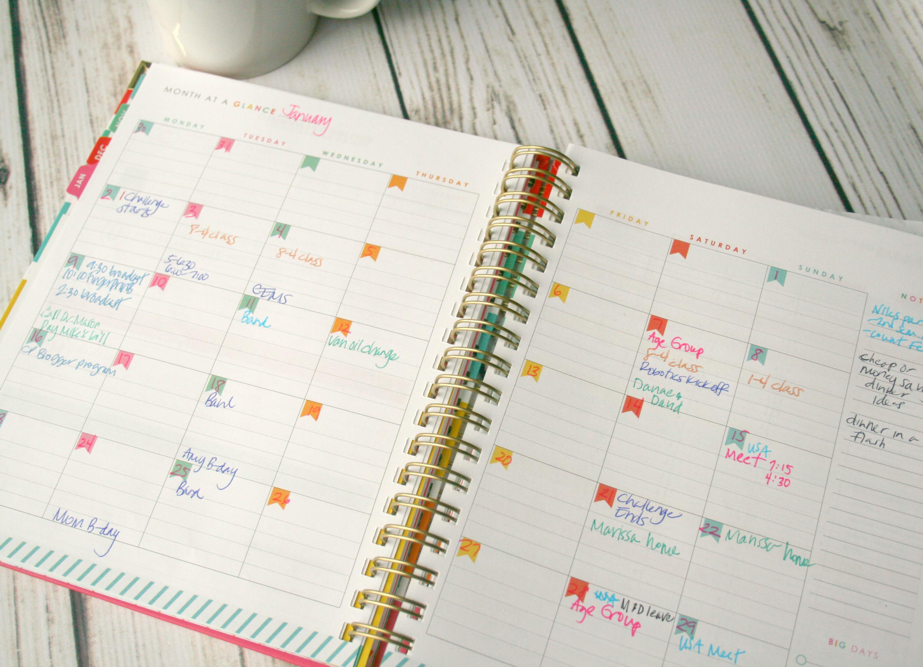 planner ideas hacks