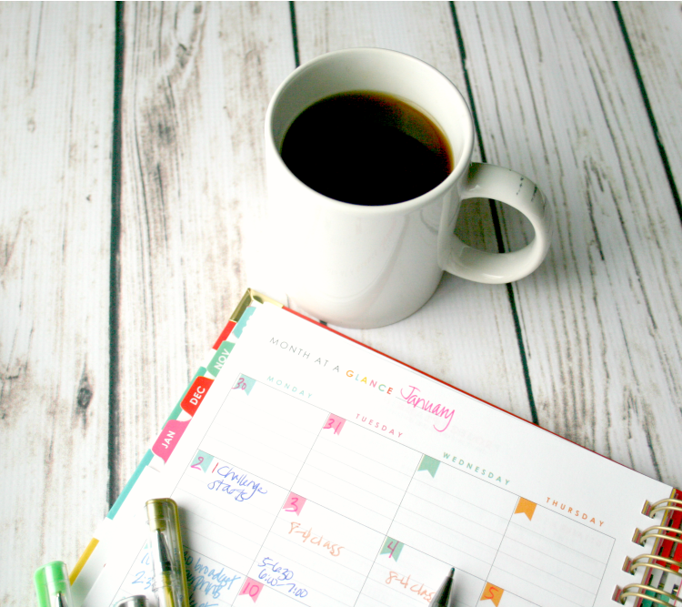 planner organization ideas