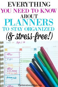 Everything You Need to Know About Planners to Stay Organized (& Sane!)