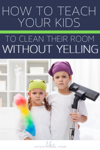 how to teach your kids to clean their room