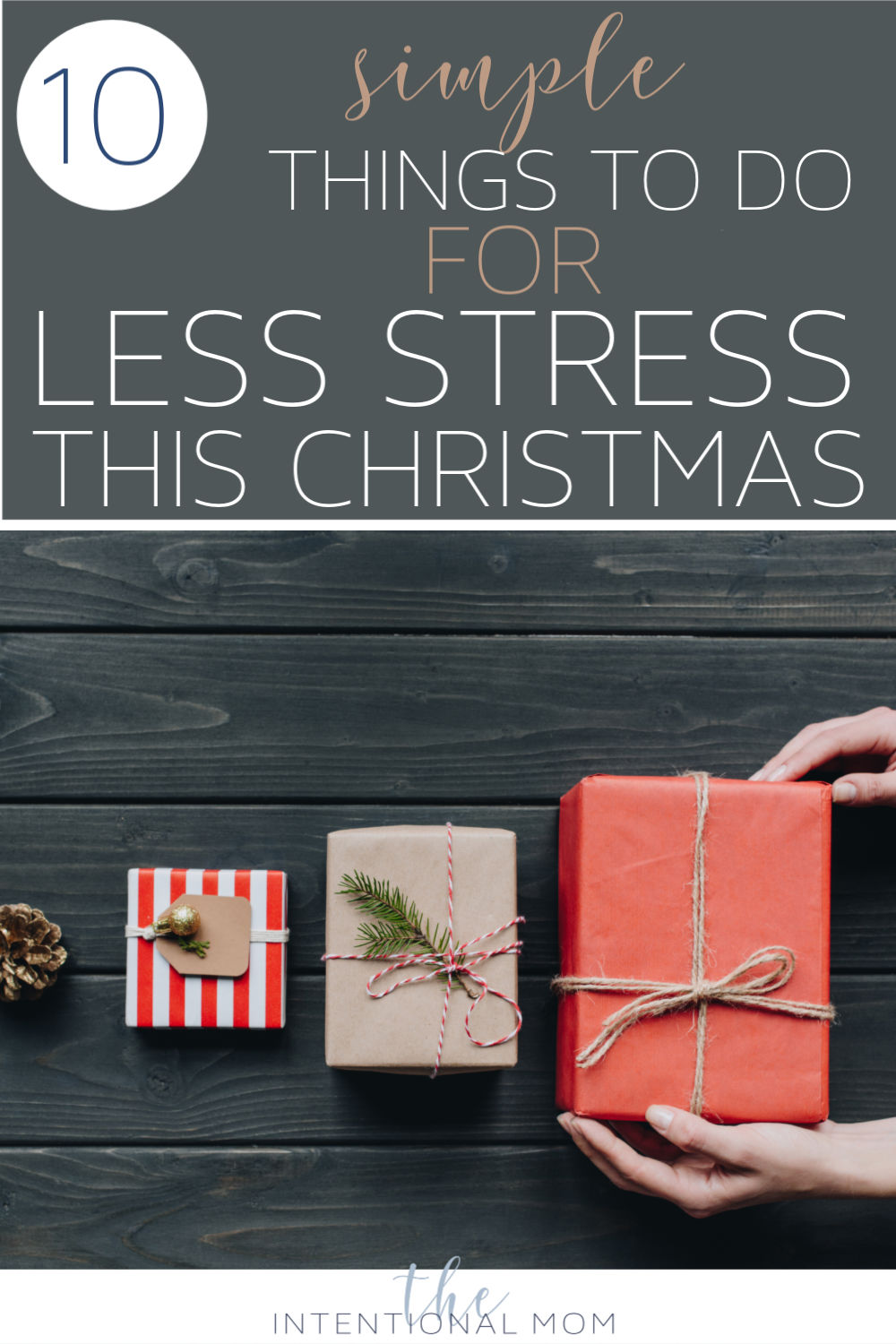 have less stress this christmas