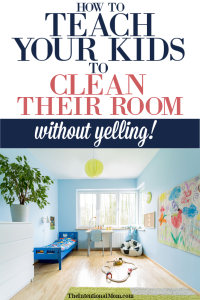 kids clean room