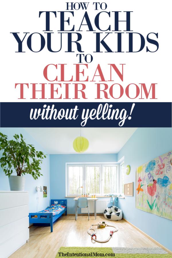 kids clean room