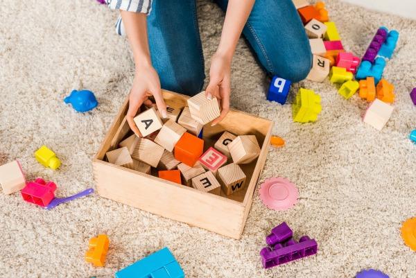 toy clutter organization