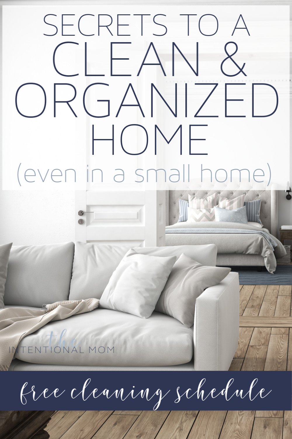 clean organized home