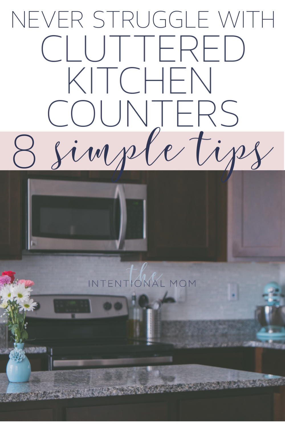 kitchen counter clutter
