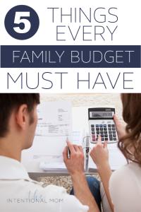 family budget tool