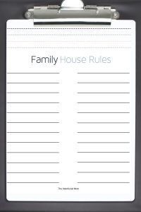 household rules family