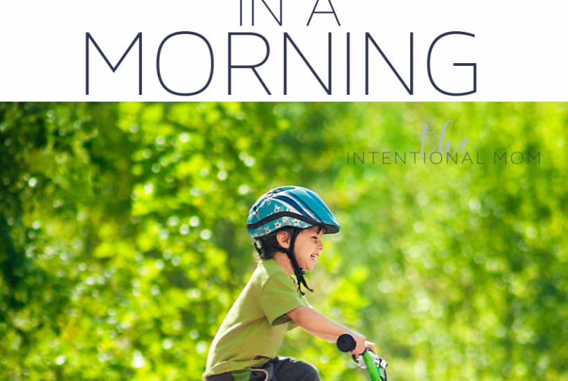 teach kid ride bike training wheels