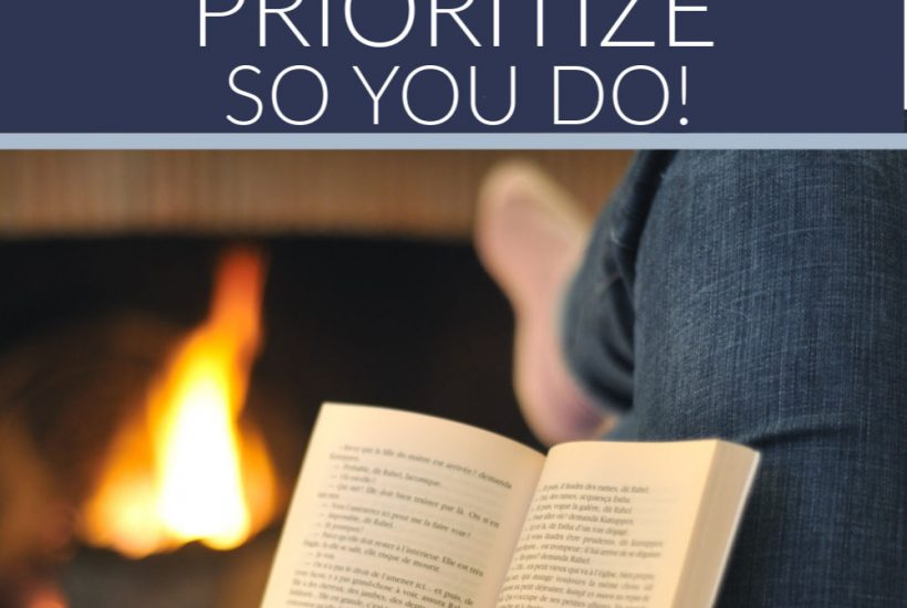 how to prioritize life