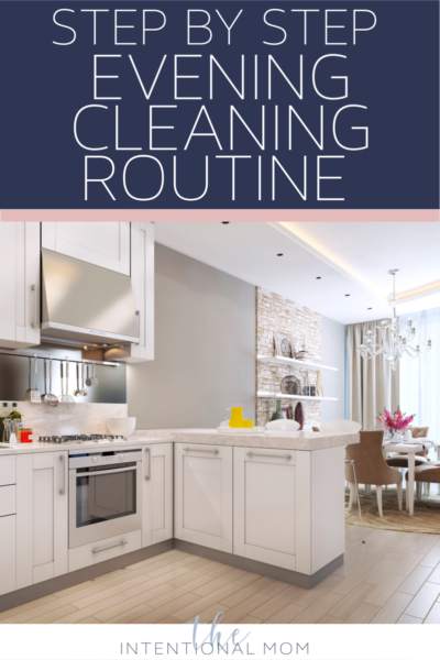 evening cleaning routine checklist