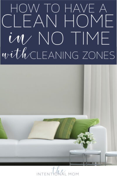 cleaning zones method