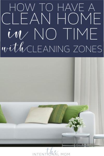 cleaning zones method