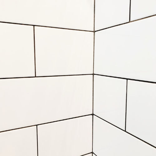 clean shower grout