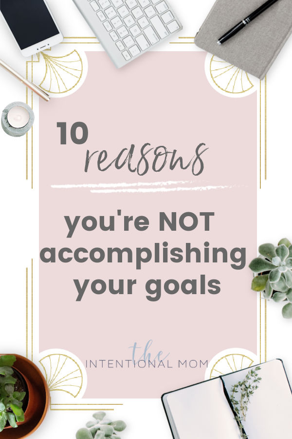 why your goals are wrong