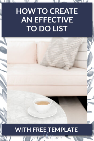 how to create a simple to do list